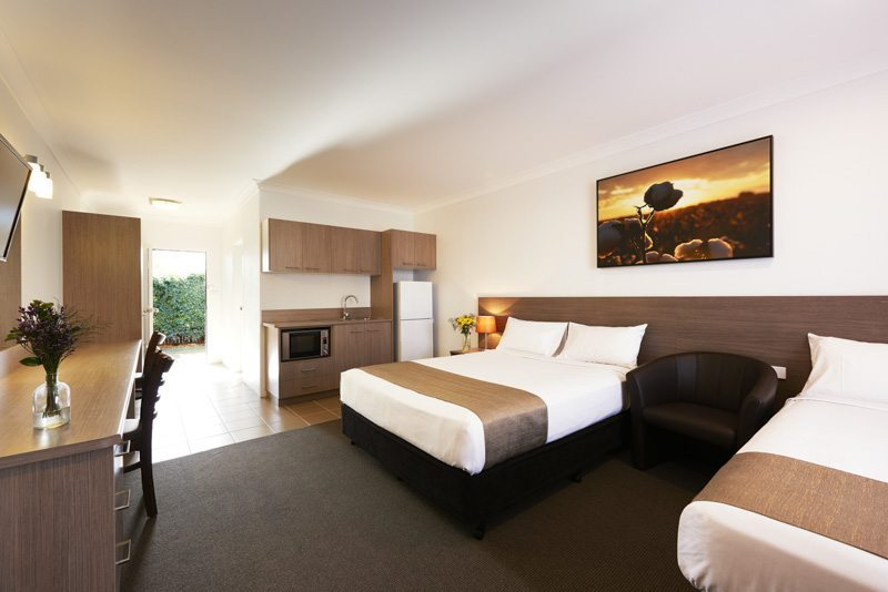 Narrabri Accommodation, the Adelong Motel, has recently renovated rooms with sophisticated and practical designs