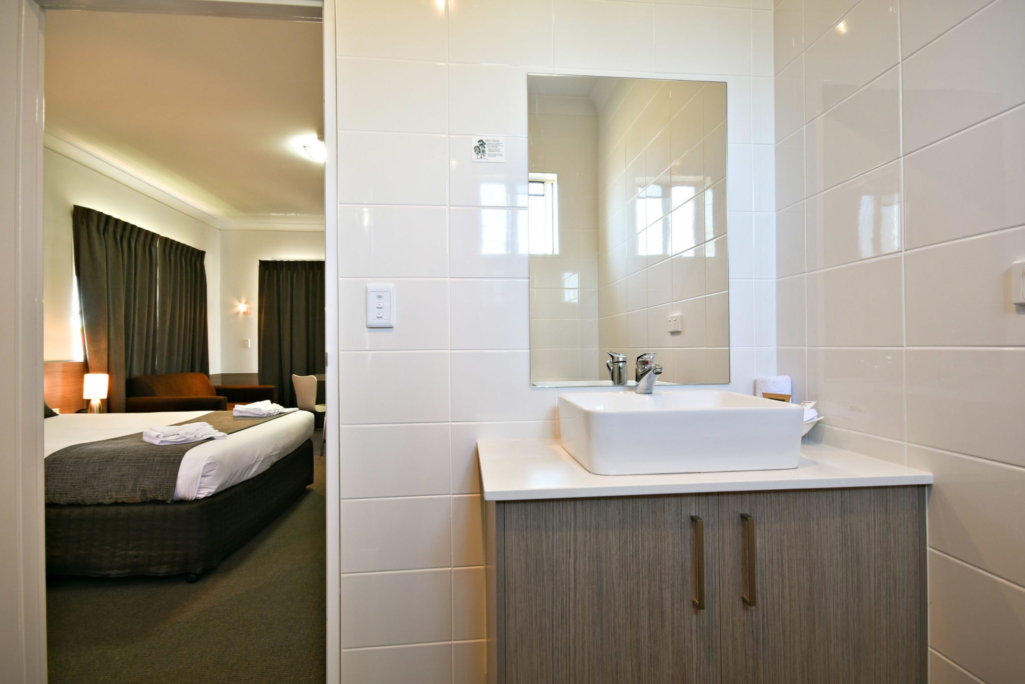 The Aberdeen Motel is perfect for families visiting the Dubbo Zoo