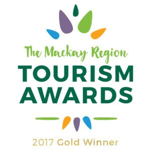 The Windmill Motel and Events Centre was awarded Mackay Region Gold Tourism Award for best business event venue