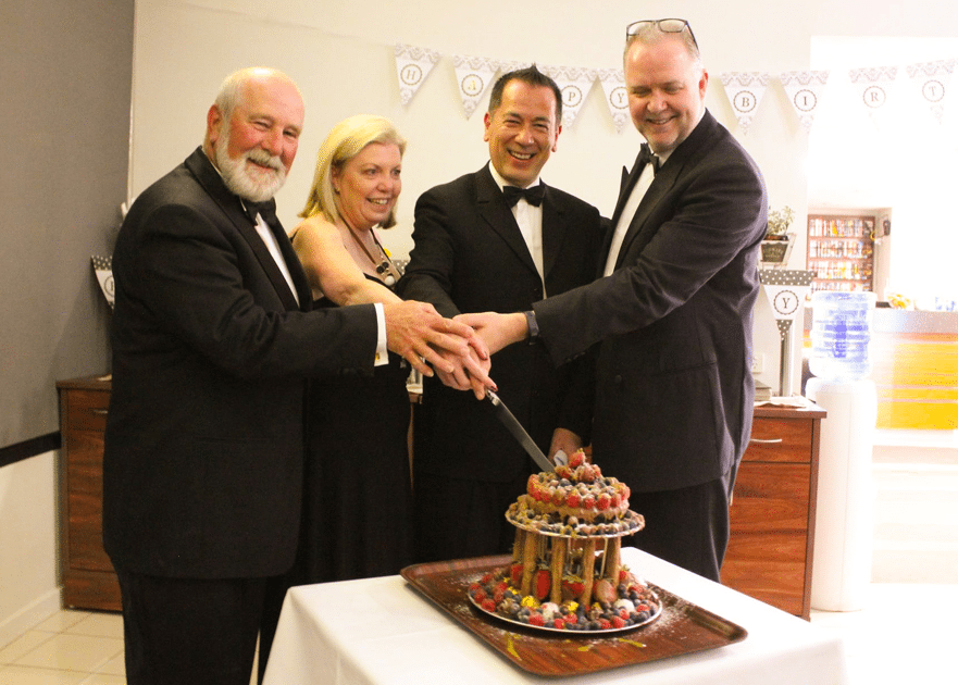 Station Motel in Parkes celebrated its tenth Birthday in style with a black-tie dinner hosted by managers Karyn and Ian Wade-Parker. Guests included local dignitaries including the Mayor of Parkes, Mr Ken Keith as well as our CEO, Liam Kelly.