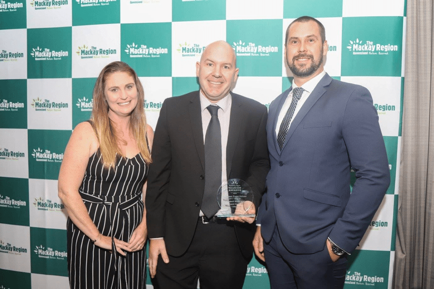 James, Rachel and the team at Windmill Hotel and Event Centre is proud as punch to be awarded the Mackay Region Tourism Awards 2017 Best Business Event Venue.