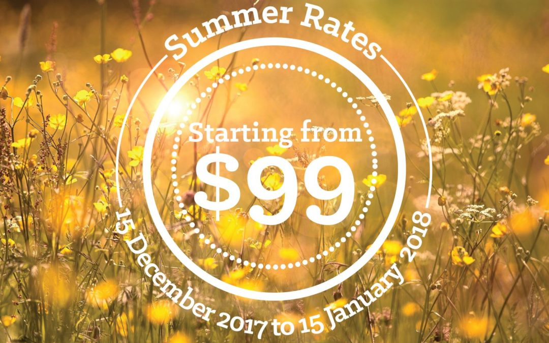 Great Summer Rates for Your Great Summer Break