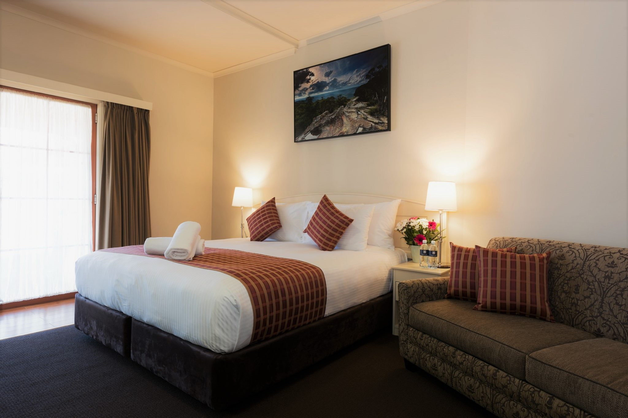 Clean and modern accommodation and rooms in Lithgow.
